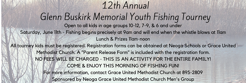 12th Annual Glenn Buskirk Memorial Youth Fishing Tourney (1)